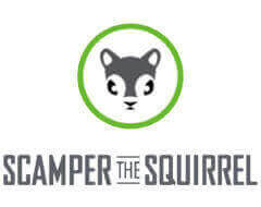 scamper the squirrel