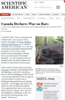 Canada Takes Getting Rid of Mice to the Next Level, Declares War Against the Vermin