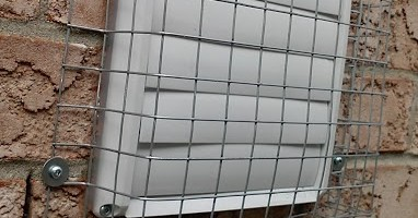 screened wall vent