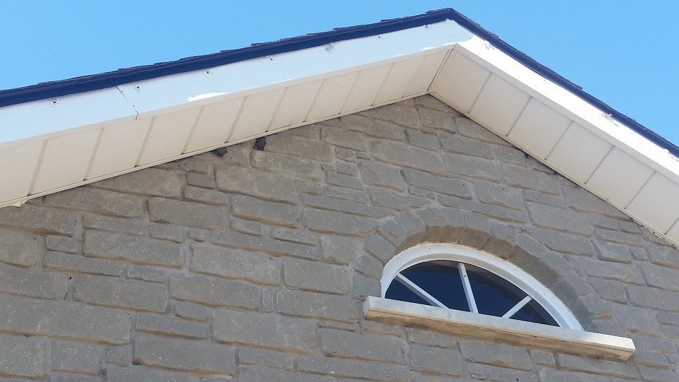 Bats Often Get Into Attics By Slipping The Gap Between Soffit Overhang And Exterior Brick