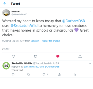 Durham District School Board - Tweet