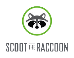 scoot the raccoon